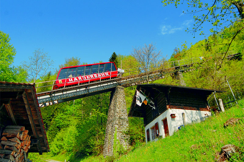 Harder Kulm funicular